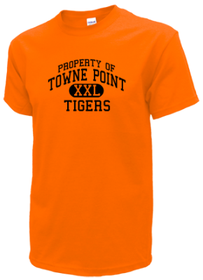 Towne Point Elementary School Kid T-Shirts