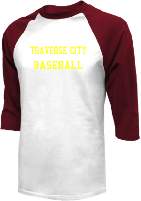 Traverse City High School Raglan Shirts