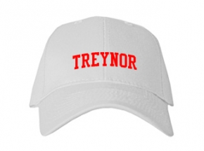 Treynor High School Kid Embroidered Baseball Caps