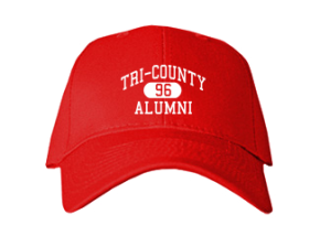 Tri-county High School Embroidered Baseball Caps