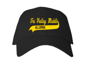 Tri-valley Middle School Embroidered Baseball Caps
