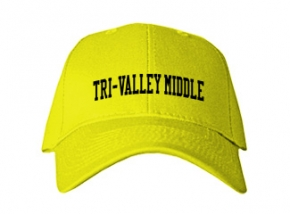 Tri-valley Middle School Kid Embroidered Baseball Caps