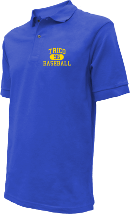 Trico High School Embroidered Polo Shirts
