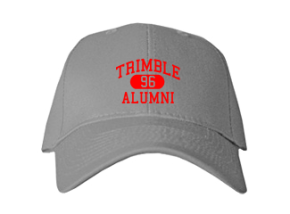Trimble High School Embroidered Baseball Caps