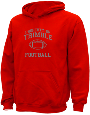 Trimble High School Kid Hooded Sweatshirts