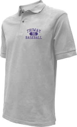 Triway High School Embroidered Polo Shirts