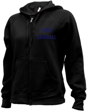 Troup High School Zip-up Hoodies