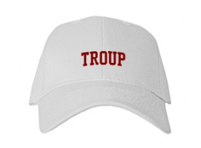 Troup High School Kid Embroidered Baseball Caps