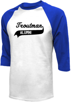 Troutman Middle School Raglan Shirts