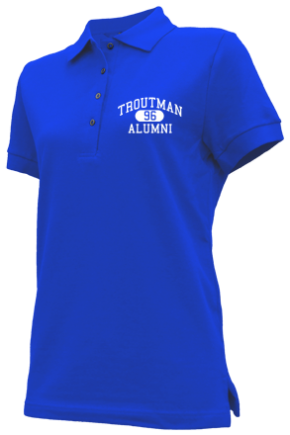 Troutman Middle School Embroidered Polo Shirts