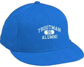 Troutman Middle School Flat Visor Caps