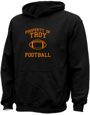 Troy High School Kid Hooded Sweatshirts