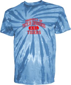 Truth Or Consequences Middle School Kid Tie-dye T-Shirts
