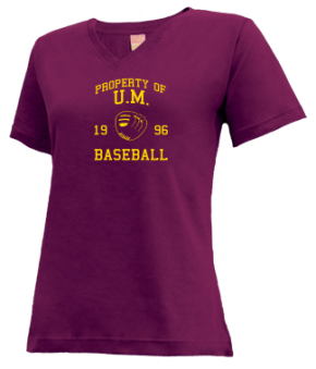 U.m. High School V-neck Shirts