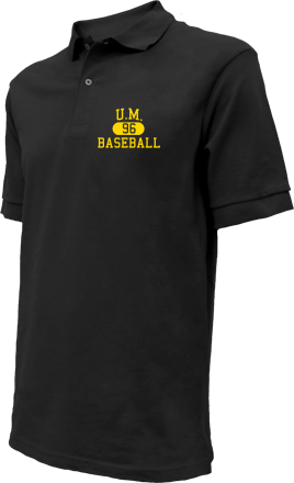 U.m. High School Embroidered Polo Shirts