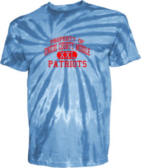 Unicoi County Middle School Kid Tie-dye T-Shirts