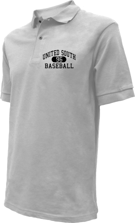 United South High School Embroidered Polo Shirts
