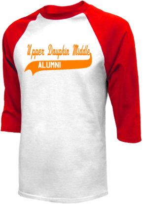 Upper Dauphin Middle School Raglan Shirts