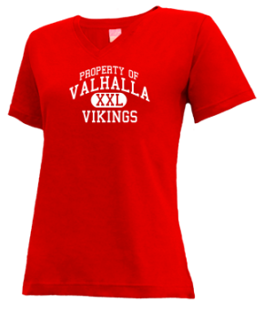 Valhalla High School V-neck Shirts