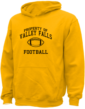 Valley Falls High School Kid Hooded Sweatshirts