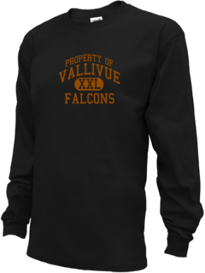 Vallivue Middle School Kid Long Sleeve Shirts
