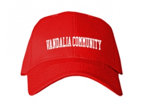 Vandalia Community High School Kid Embroidered Baseball Caps