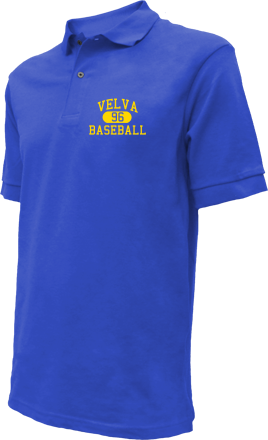 Velva High School Embroidered Polo Shirts