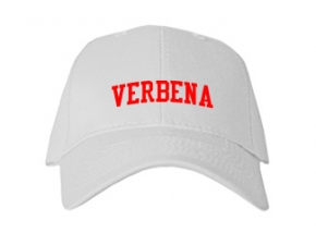 Verbena High School Kid Embroidered Baseball Caps