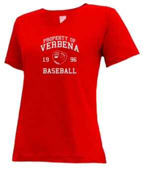 Verbena High School V-neck Shirts