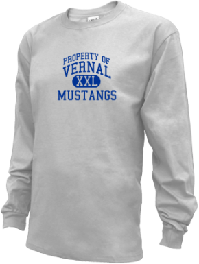 Vernal Middle School Kid Long Sleeve Shirts