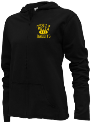 Vesta Elementary School Girls Zipper Hoodies