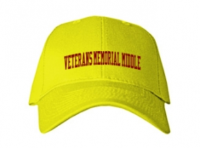 Veterans Memorial Middle School Kid Embroidered Baseball Caps