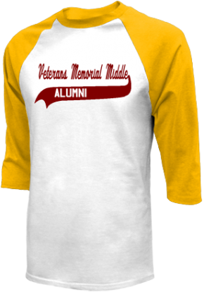 Veterans Memorial Middle School Raglan Shirts