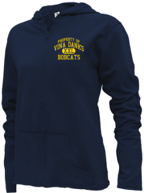Vina Danks Middle School Girls Zipper Hoodies