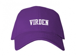 Virden High School Kid Embroidered Baseball Caps