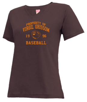 Virgil Grissom High School V-neck Shirts