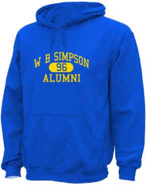 W B Simpson Elementary School Hoodies