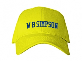 W B Simpson Elementary School Kid Embroidered Baseball Caps