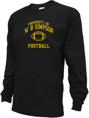 W B Simpson Elementary School Kid Long Sleeve Shirts