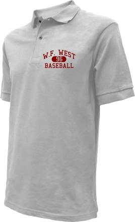W.f. West High School Embroidered Polo Shirts