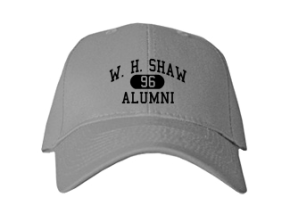 W. H. Shaw High School Embroidered Baseball Caps