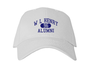W L Henry Elementary School Embroidered Baseball Caps
