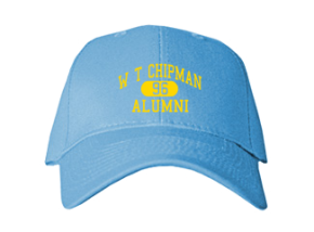 W T Chipman Middle School Embroidered Baseball Caps