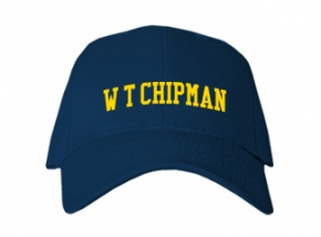 W T Chipman Middle School Kid Embroidered Baseball Caps