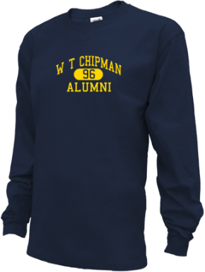 W T Chipman Middle School Long Sleeve Shirts