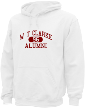 W T Clarke Middle School Hoodies