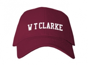 W T Clarke Middle School Kid Embroidered Baseball Caps