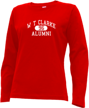 W T Clarke Middle School Long Sleeve Shirts