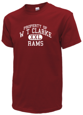 W T Clarke Middle School Kid T-Shirts
