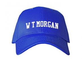 W T Morgan Elementary School Kid Embroidered Baseball Caps